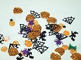 50 Stück Geister Konfetti bunt Mix Streudeko für Anlässe wie Halloween, Fasching etc...