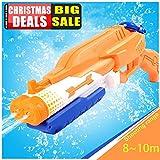 Addmos Spielzeug Wasserpistole Water Gun mit 8-10m Schießabstand, Super Spritzpistolen Soaker mit 1,2L Wassertank, Ideal als Badespielzeug Strandspielzeug für den Sommer, Kinder und Erwachsene