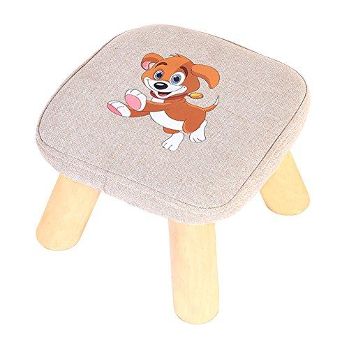 Uso domestico sgabello piccolo legno massello moda creativo sgabello rotondo living room tessuti sgabello divano cambiare le scarpe sgabello-l
