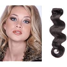 Carcasa rígida con enganche Diseño con onda en forma-Remy diseño con texto en - cubre solo el cuerpo de diseño de mujer con pelo extensions18 evaluación de ...