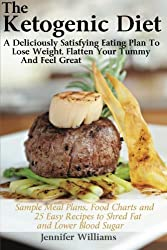 The Ketogenic Diet: A Deliciously Satisfying Eating Plan To Lose Weight, Flatten Your Belly and Feel Great by Jennifer Williams (2013-07-10)