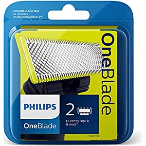 Philips OneBlade QP220/50 Replaceable Blade, 2-Piece