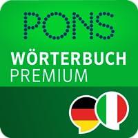 PONS Wörterbuch Italienisch - Deutsch PREMIUM