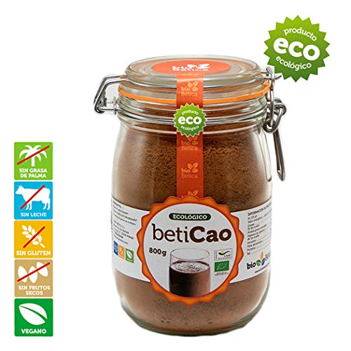 BetiCao Cacao Soluble Instantáneo Ecológico 800 gr 100{075bb838e591e227836f9e81462893a28054f0a1c8ab8f1c8d0f30961621e11e} BIO