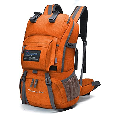 Mountaintop 40L Hiking Backpack,55 x 33 x 20 cm