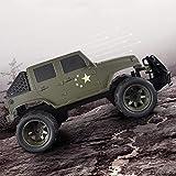 SHZJ Tout-Terrain Off-Road Radio Control Jeep Voiture ModèLe 2.4G 100M Grand Angle De Torsion 45 DegréS d'escalade éLectrique Enfants RC Voiture G GarçOn