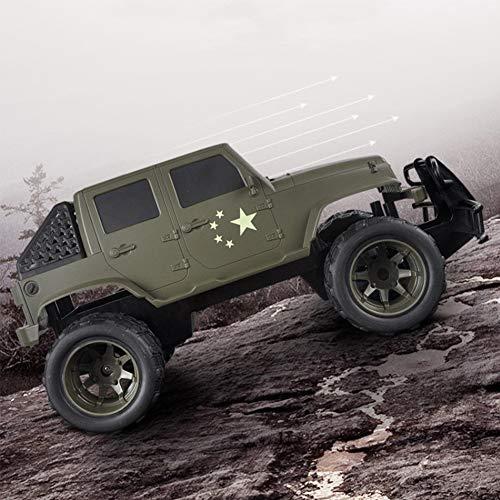 SHZJ All-Terrain-Off-Road-Elektro-Funkfernsteuerung Jeep Car Modell 2.4G 100M Big Twist Winkel 45 Grad Klettern Elektro-Kinder RC Car G Jungen Und MäDchen