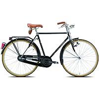 Legnano Ciclo 100Urban, Bicicleta Vintage Hombre, Hombre, Ciclo 100 Urban, Negro, 54