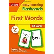First Words Flashcards: Prepare for Preschool with Easy Home Learning