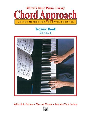 Alfred's Basic Piano Chord Approach Technic 1 (Alfred's Basic Piano Library) (English Edition)