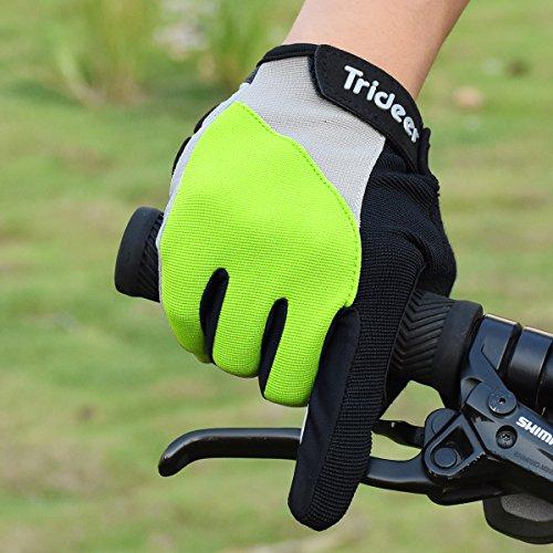 Trideer Fahrradhandschuhe mit Handgelenkstütze - 6