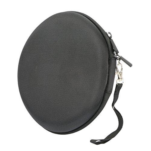 Hart Reise Schutz Hülle Etui Tasche für Mpow On-Ear Bluetooth Overhead-Headset Stereo Wireless Kopfhörer von co2CREA (Schwarz) - 5