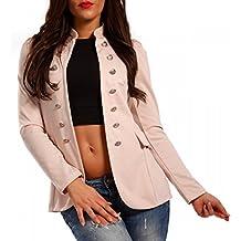 es mujer Rosa Amazon chaqueta militar 4C7wqxx08S