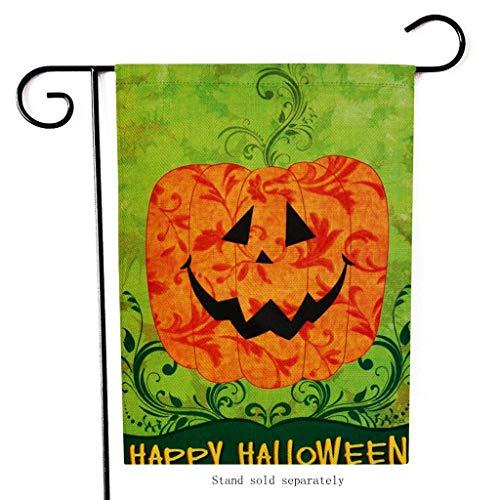 Und Kostüm Spinne Fliege - SUMTTER Halloween Home Garden Flagge - Hexe Kürbisse Spinnen Drucken - 12 x 18inch House Haus Flagge (R)