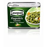 fagioli Cassegrain Cuisina © s 4/4 465g extra fine - ( Prezzo unitario ) - Cassegrain flageolets cuisinés extra fins 4/4 465g