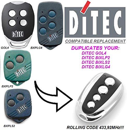Ditec GOL4 compatible CLONE kompatibel handsender, klone fernbedienung, 4-kanal 433,92Mhz rolling code. Top Qualität Kopiergerät!!! - Torantriebe Control Board