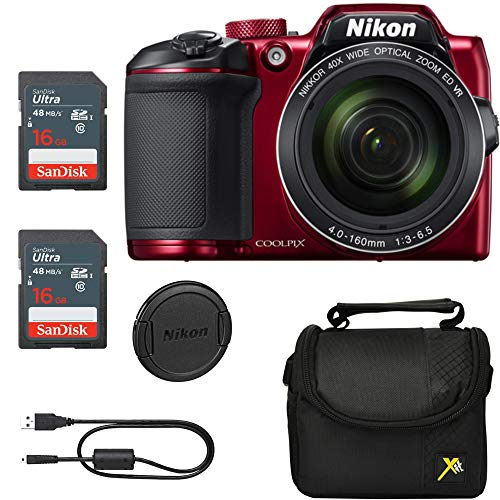 Vente Exclusive, Classic Bundle for Nikon B500 Coolpix Camera (Rough)