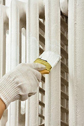 1L Heizkörperlack verschiedene Farben Hitzebeständig Heizkörper Streichen Heizung Lackieren Farbe Lack