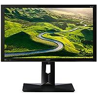 Acer CB1 (CB241Hbmidr) 61 cm (24 Zoll) Monitor (DVI, HDMI, 1ms Reaktionszeit, Höhenverstellbar, Pivot-Funktion, EEK B) schwarz
