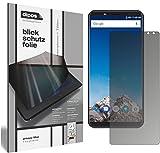 dipos I Blickschutzfolie matt passend für Vernee X Sichtschutz-Folie Bildschirm-Schutzfolie Privacy-Filter