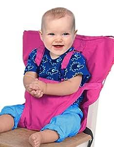 GudeHome Sièges bébé Portable haute sécurité Chaise Harnais enfant pliable de ceinture de sécurité Sac de couverture