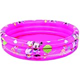 Bestway 91037B-03 - Planschbecken Mickey Mouse Clubhouse Girls, 122 x 25 cm