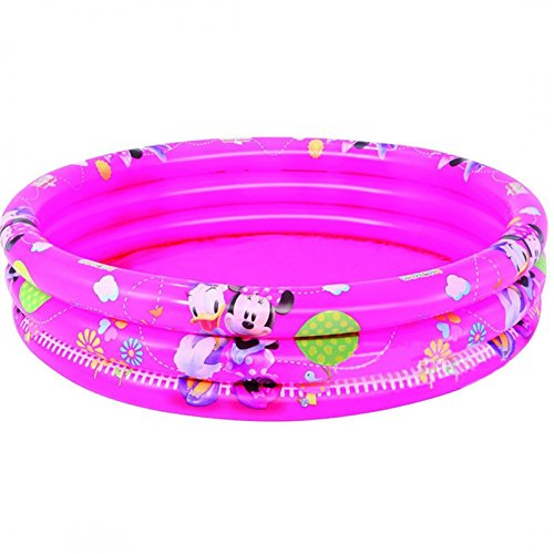 Bestway 91037B-03 - Planschbecken Mickey Mouse Clubhouse Girls, 122 x 25 cm -