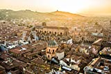 druck-shop24 Wunschmotiv: Aerial View of Bologna, Italy at