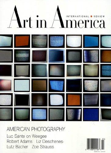 Art Magazine America In (ART IN AMERICA)