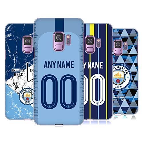 Head Case Designs Manchester City Man City FC Coutume Personnalisé 2018/19 Étui Coque D'Arrière Rigide pour Samsung Téléphones 1