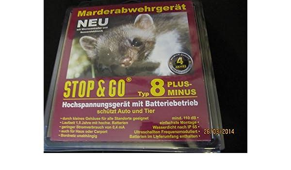 Marderschockger/Ã/¤t 8 Plus-Minus HOCHSPANNUNG+ULTRASCHALL