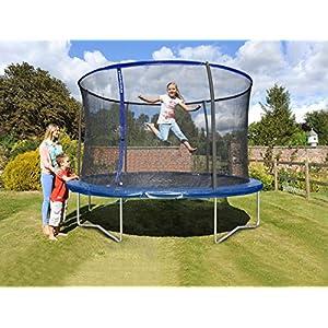 Sportspower Trampolin Gartentrampolin 305/366cm 150kg TÜV/GS innenliegendes Netz