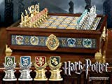 Harry Potter Quidditch Schach-Set im Stil der Häuser von Hogwarts