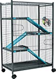 Best Cages Chinchilla - Zolux Cage pour Chinchilla/Furet Bleu 72 x 43 Review