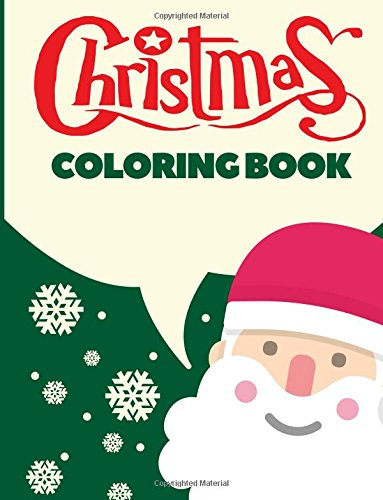 Christmas Coloring Book: Christmas Coloring Pages for Kids (Coloring Books, Band 10)
