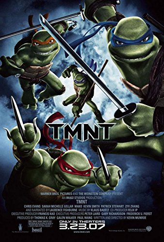 Teenage Mutant Ninja Turtles Original Filmplakat - Beidseitige Advance Original-Kinoplakat Poster (69Cm X 102Cm) (Kino-erinnerungsstücke)
