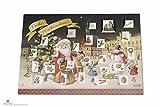 Exclusiver Adventskalender Weihnachtskalender als Klapp-Postkarte by Andrea Heinze Weihnachten Advent Weihnachtsmann Adventskalender