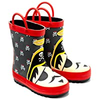 Chipmunks Boys/Girls Blackbeard Kids Infants/Junior Wellies Wellington Boots