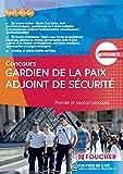 Gardien de la paix adjoint de sécurité 2015 Premier et second concours catégorie B