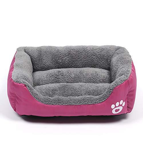 YYII Haustier Nest Hund Matte Candy Farbe warm Haustier Nest Katze Zwinger Mode Heimtierbedarf