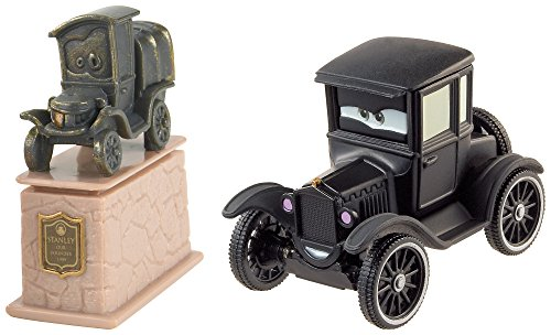 Mattel DHL17 - Véhicules Cars 2 Pack Stanley & Lizzie
