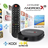 Sumvision Cyclone Android X8 4K Octa-Core Smart Android Player