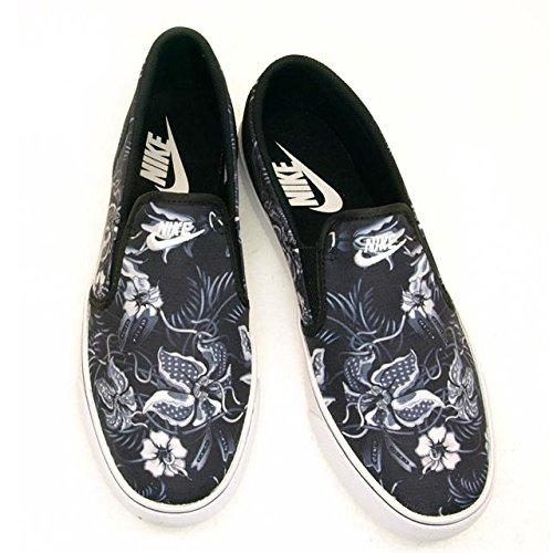 Nike Toki Slip Txt Print 724761-010 Grigio