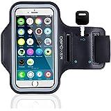 DBPOWER Armband de Téléphone Brassard de Sport Anti-Sueur avec Porte-clés pour iPhone 6/Galaxy S3/S4/S5