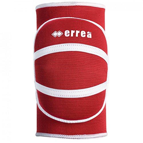 ATENA Knieschoner-Set (1 Paar) · KINDER Knieschützer mit Ergonomie-Bandage (2 Stück) Größe XS, Farbe rot-weiß, Farbe rot - weiß