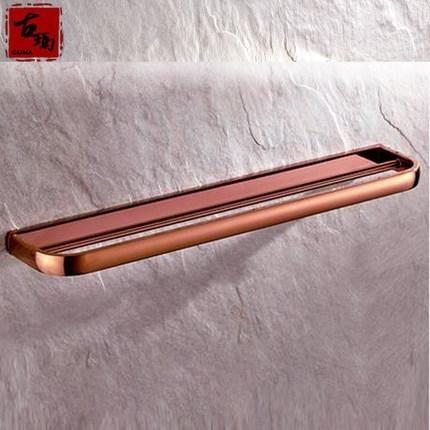 Singolo strato doppio-antico rame e oro rosa appeso lungo doppia