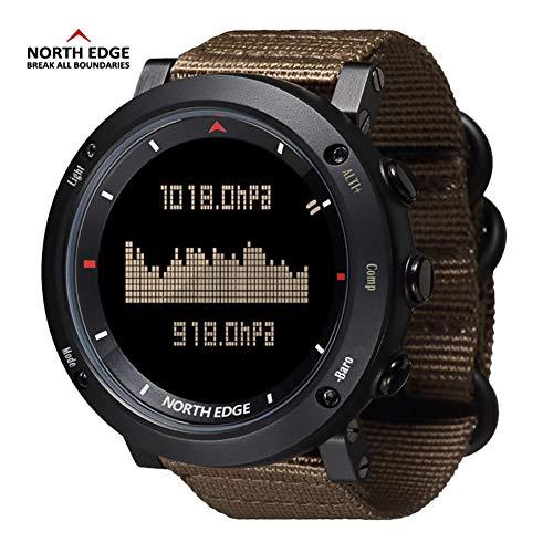 iBaste Herren Sport Digital Smart Watch Stunden Laufen Schwimmen Outdoor Sports Uhren mit Höhenmesser Barometer Kompass Thermometer Wetter Funktionen