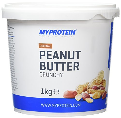 MyProtein Peanut Butter Natural Crunchy Crema de Cacahuete – 1000 gr