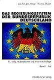 Das Regierungssystem der Bundesrepublik Deutschland: Band 1: Text, Band 2: Materialien