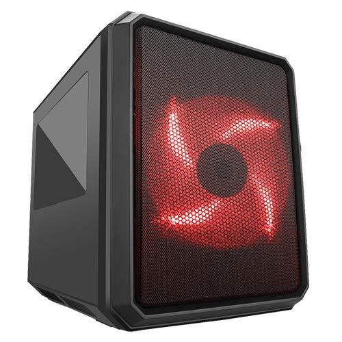 Itek QBO 8 Case per Desktop PC con Ventola da 200 mm e 120 mm
